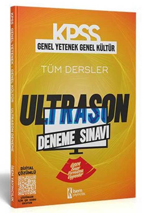 İsem KPSS Genel Yetenek Genel Kültür ÖSYM Tarzı UltraSon Deneme Sınavı İsem Yayıncılık