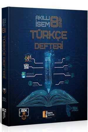 İsem 2022 8. Sınıf Akıllı İsem Türkçe Defteri İsem Yayıncılık