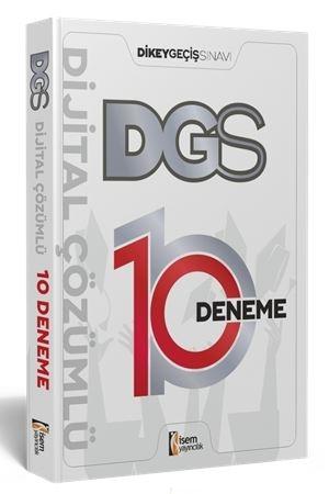 İsem 2021 DGS Dijital Çözümlü 10 Deneme Sınavı İsem Yayıncılık