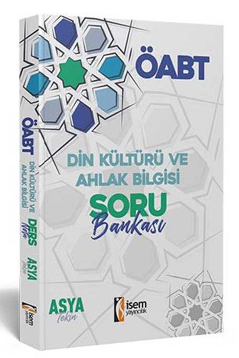 İsem 2021 ÖABT Din Kültürü ve Ahlak Bilgisi Öğretmenliği Soru Bankası İsem Yayıncılık