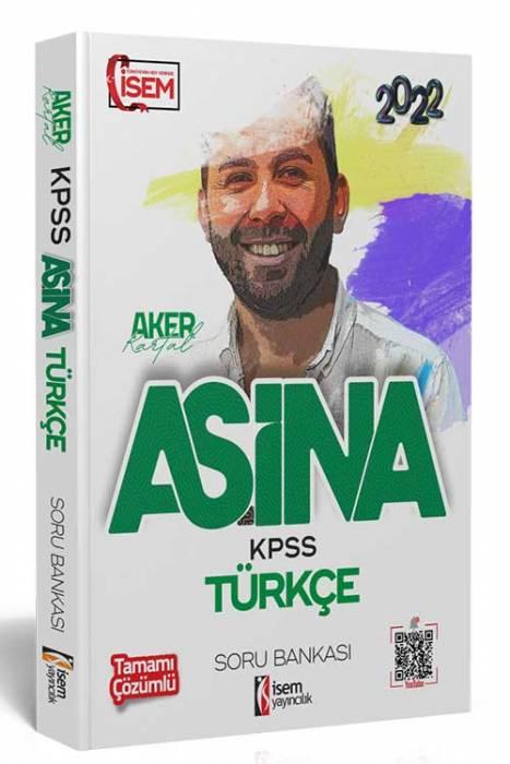İsem 2022 KPSS Aşina Türkçe Çözümlü Soru Bankası İsem Yayıncılık